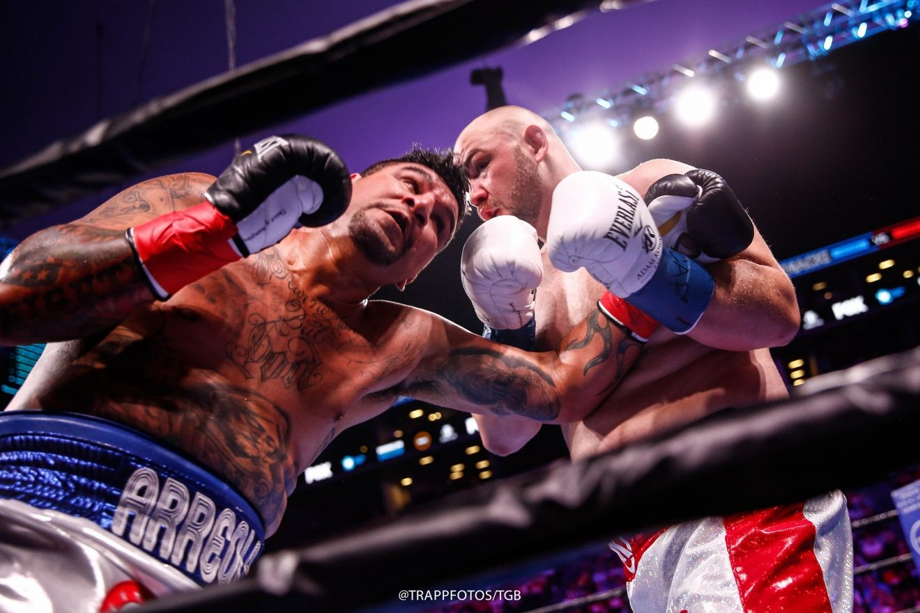 Fast Results from Brooklyn: Kownacki Outslugs Arreola